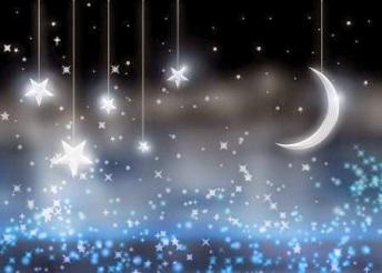 buenas noches luna y estrellas1